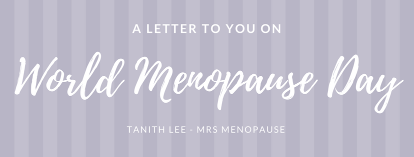 Dear menopause body ………